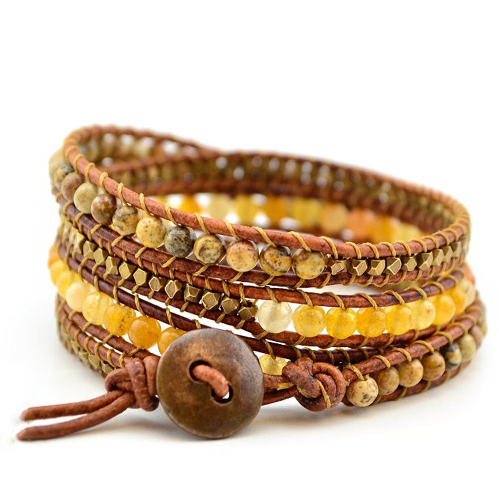 Free Wrap Bracelet Project | Tricks to Laddering- Homewood – Beadshop.com