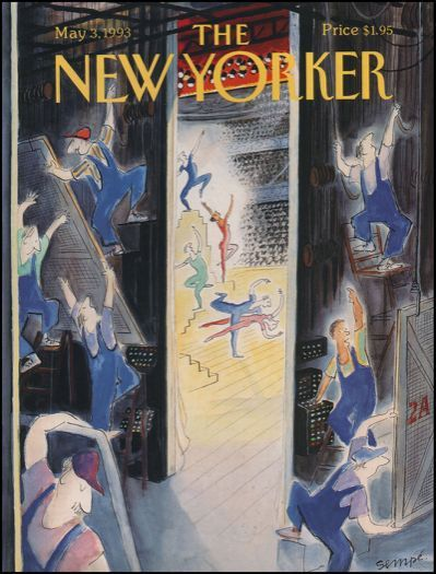 Cover of the New Yorker , Charles