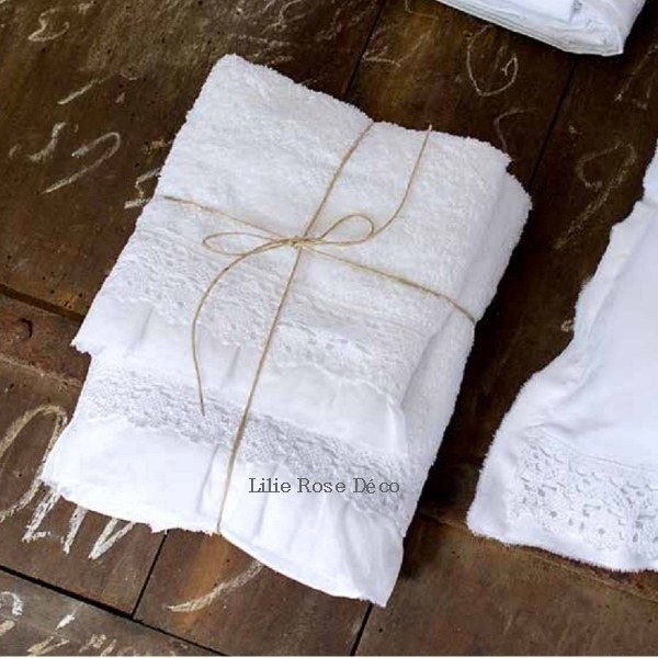 serviettes de toilette crochet blanc mariclo linge de bain pinterest crochet. Black Bedroom Furniture Sets. Home Design Ideas