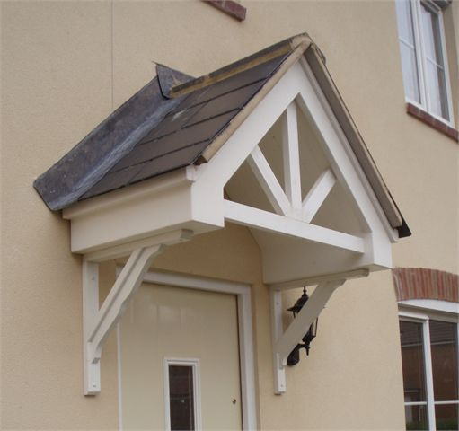 Apex Trussed Infill - door entrance canopy & Apex Trussed Infill - door entrance canopy | Front door ...