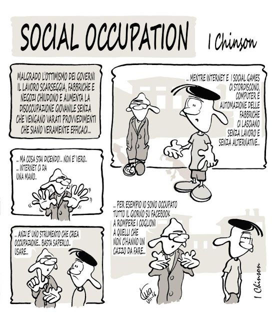 SATIRA N'EURODEFICIENTE: SOCIAL OCCUPATION - I Chinson