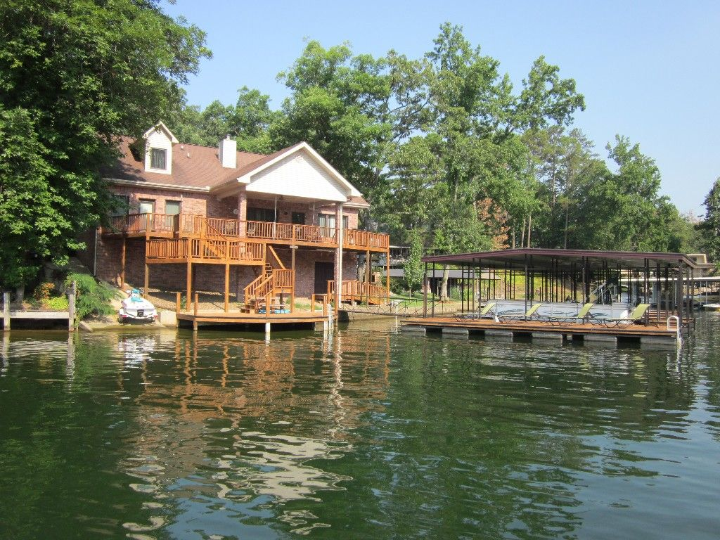 Centrally located lake house with a secluded feel boat