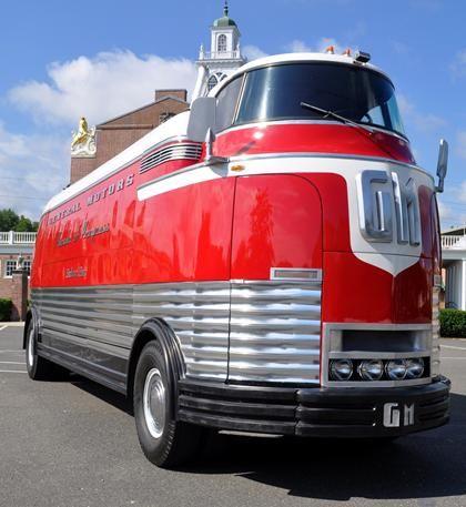 Gm 39 Parade Of Progress 39 Futurliner Bus Fizzles On Ebay