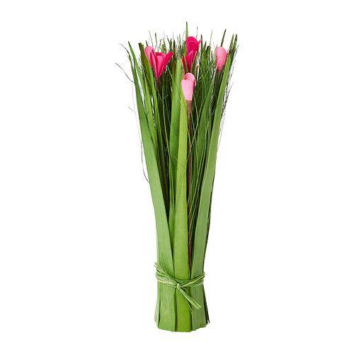 IKEA - TÄRNA, Kuivakasvinippu, Pysyy hyvin pystyssä myös ilman maljakkoa.Hyvä valinta niille, jotka eivät voi hankkia aitoja kasveja, mutta jotka haluavat silti palan luonnon kauneutta kotiinsa.