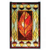 Found it at Wayfair - Lodge Tiffany Harvest Festival Stained Glass Window