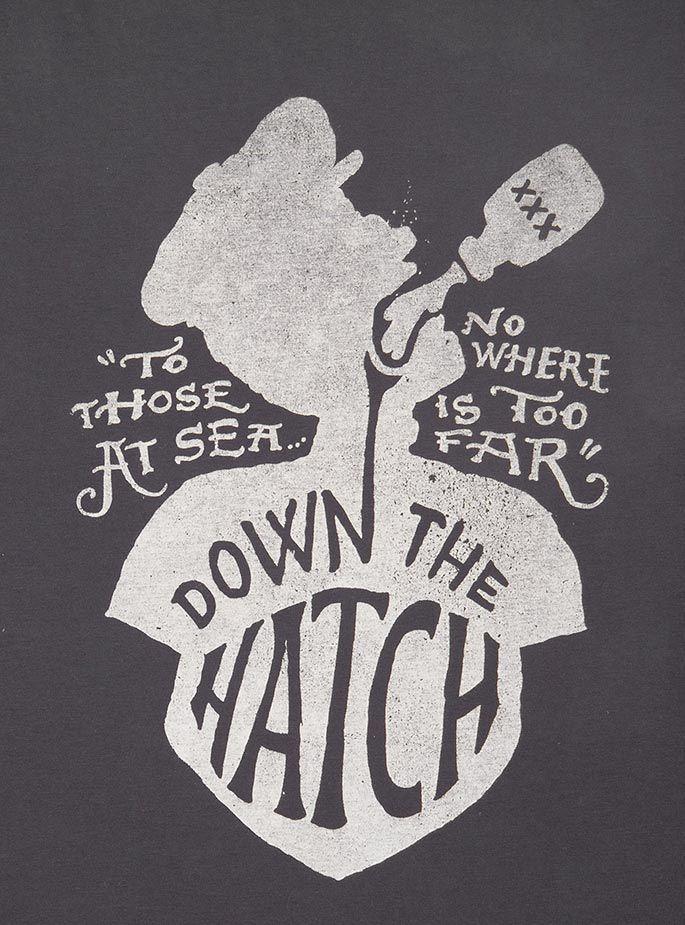 John Contino - Down the Hatch #illustration #typography #liquor