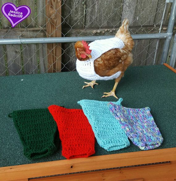 Crochet Chicken Sweater By Crochetitquickandsew On Etsy Chickens