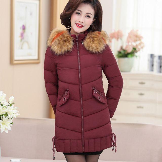 c2a5d9e018d80 Hot sale 2018 Winter Jacket Women Plus Size Women Parkas Thicken Outerwear  hooded Winter Coat Long