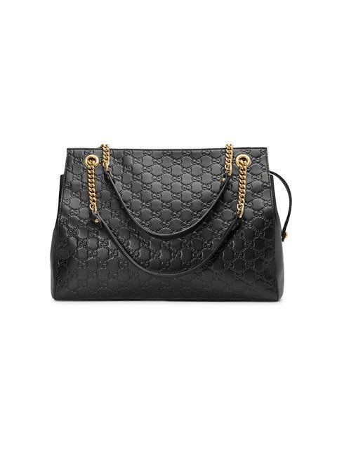 8496a04fefe8 Shop Gucci Soft Gucci Signature shoulder bag.   Bags   Sac à Main ...