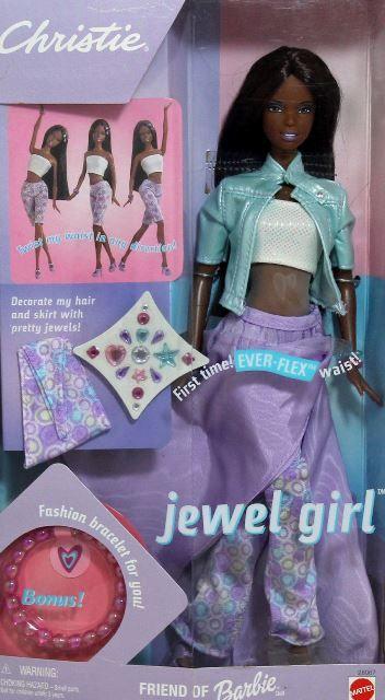 NEW ~ 1999 Barbie Jewel Girl Christie #28067