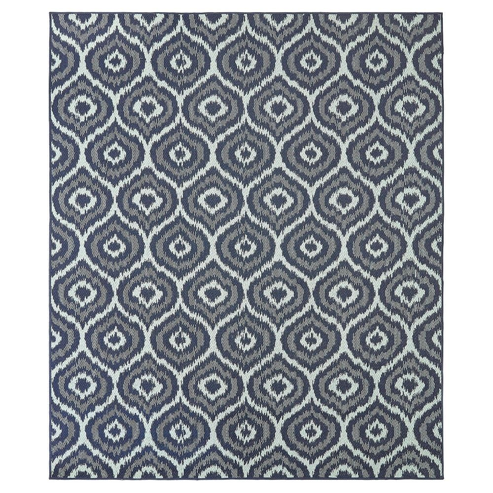 Morro 10 X 14 Outdoor Rug Navy Mohawk Home Blue Products Mohawk Home Patio Rugs Rugs