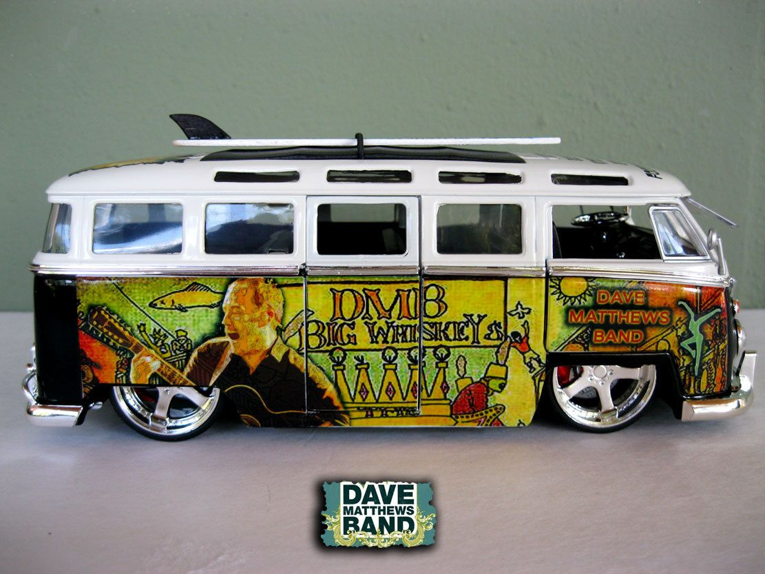 Dave Matthews Band VW Bus by chrisdalessandro on Esty