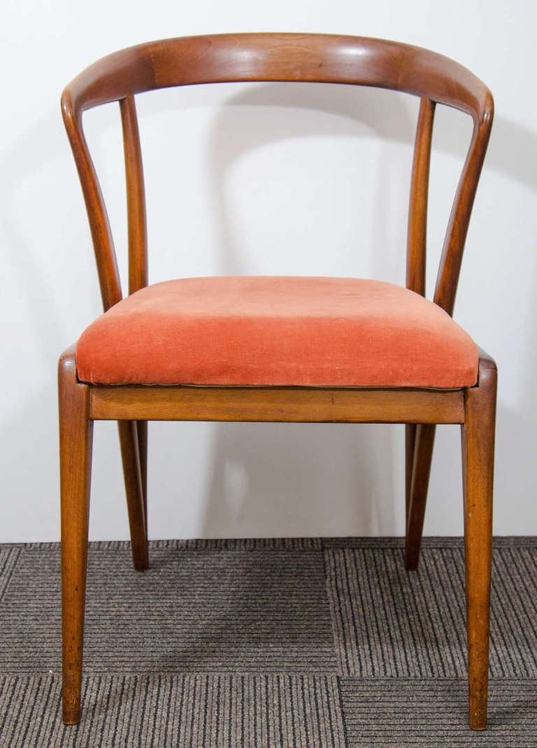 A Midcentury Pair Of Bertha Schaefor Chairs