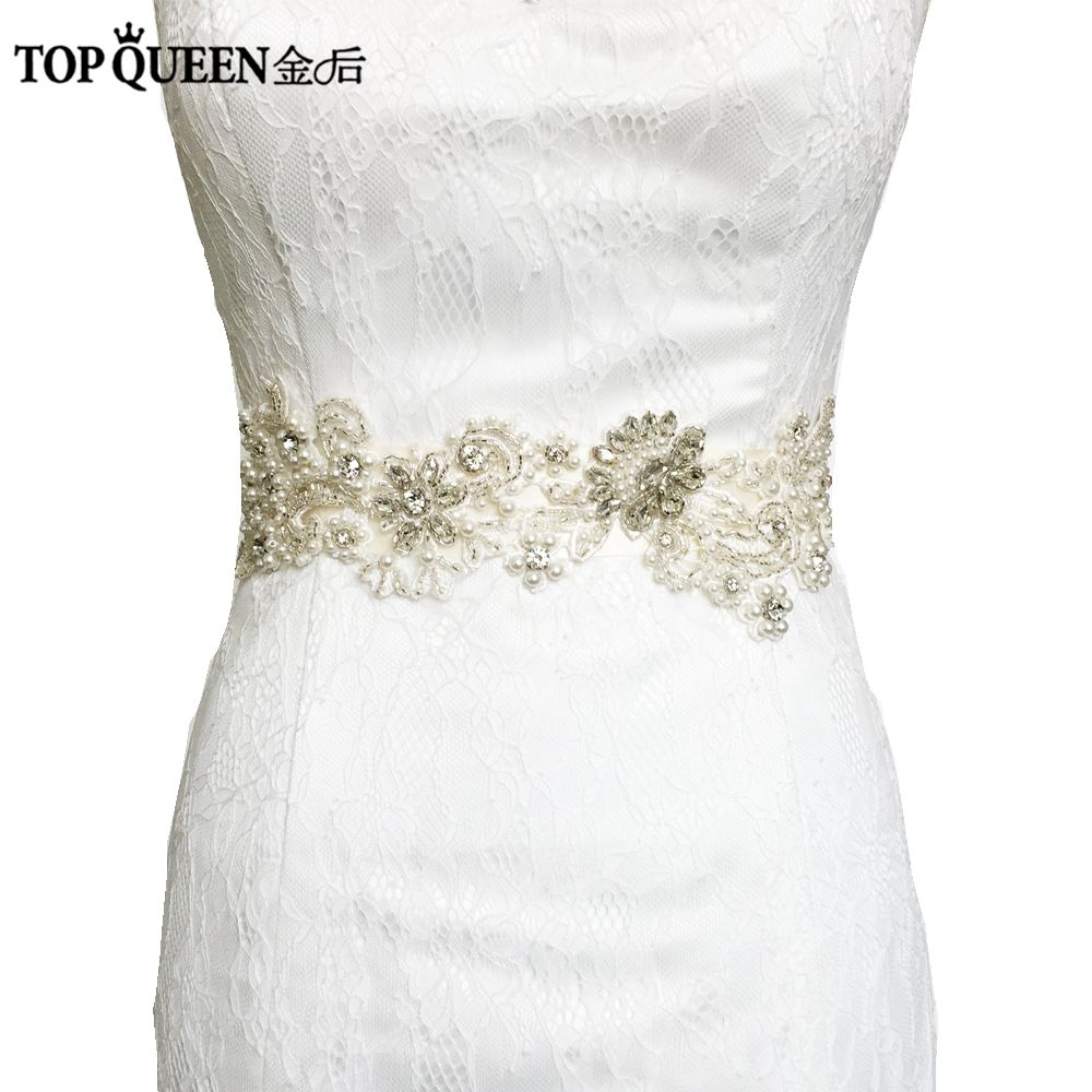 Beautiful Topqueen S71 Free Shipping Wedding Belt Crystal Rhinestone Belt Bridal Sash Wedding Dress Accessories Wedding Belt Crystal Wedding Accessories