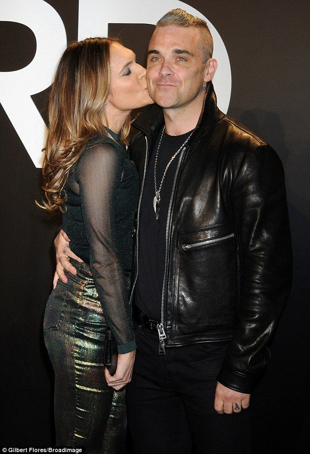 Robbie and Ayda at Tom Ford Fashion Event in LA (20/2/2015)