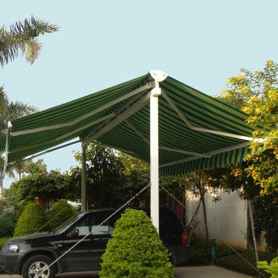 Awntech Beauty Mark Richmond 10 Double Sided Freestanding Retractable Awning With 16 Projection 2368 00 Pergola Pergola Shade Pergola Plans Design