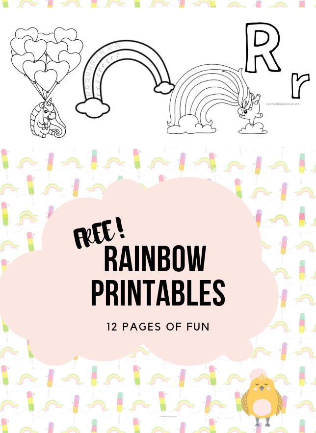 Photo of Rainbow Printables