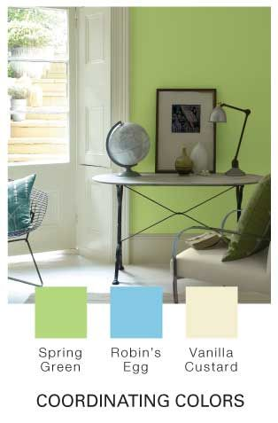 Glidden Paint Mobile Site Spring Green Colors Office Playroom Coordinating