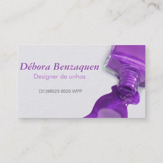 Stylish hot purple glitter nail salon manicure business card unhas stylish hot purple glitter nail salon manicure business card colourmoves
