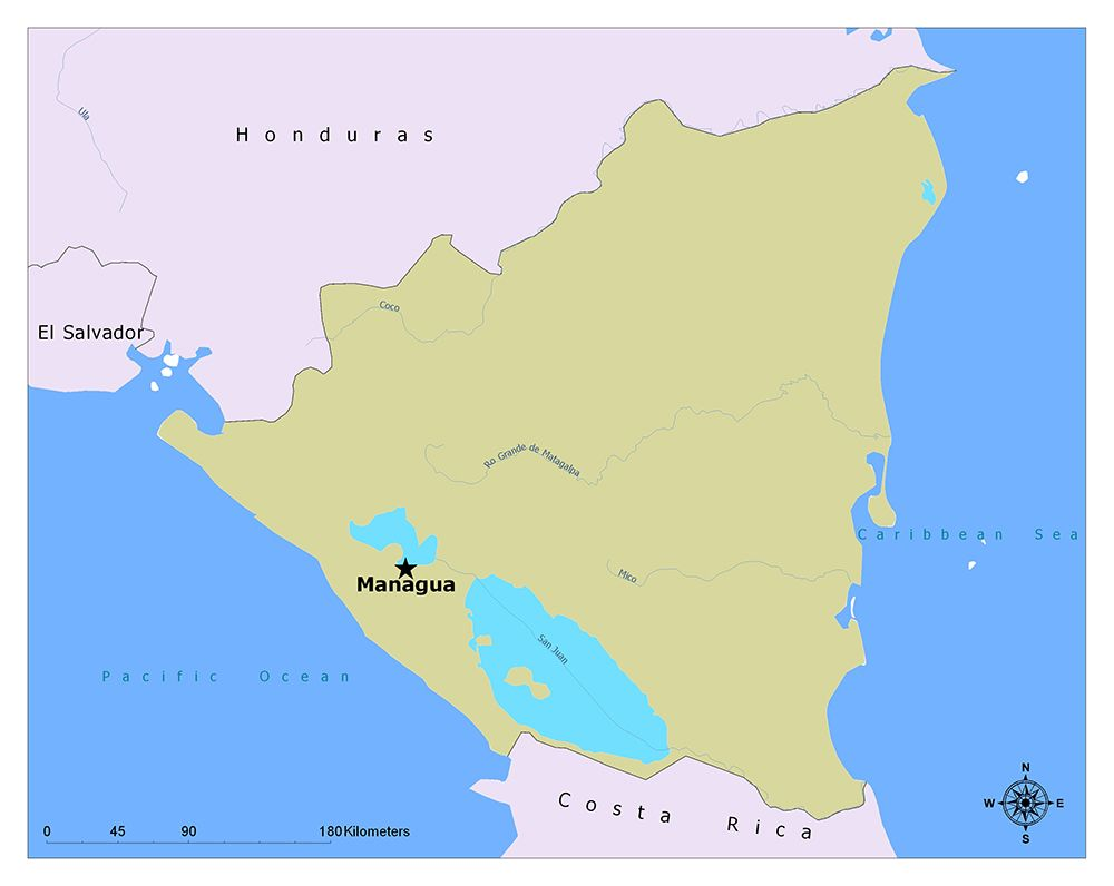 What is the Capital of Nicaragua? | Map, Interesting topics ...