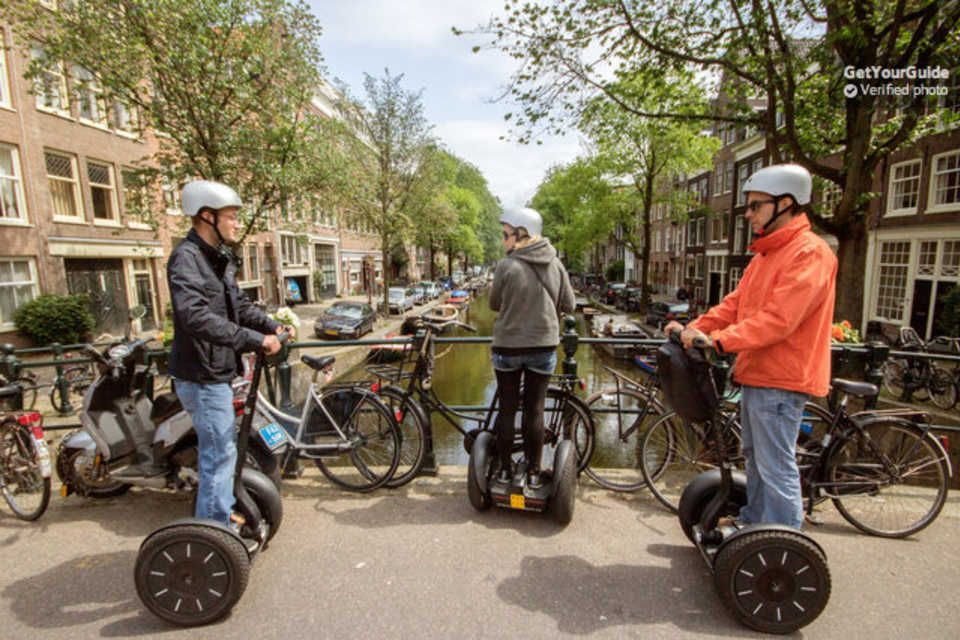 Amsterdam Segway Tours Segway tours, Segway, Amsterdam