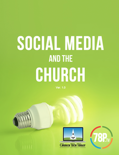 Social Media and the Church PDF guide.
