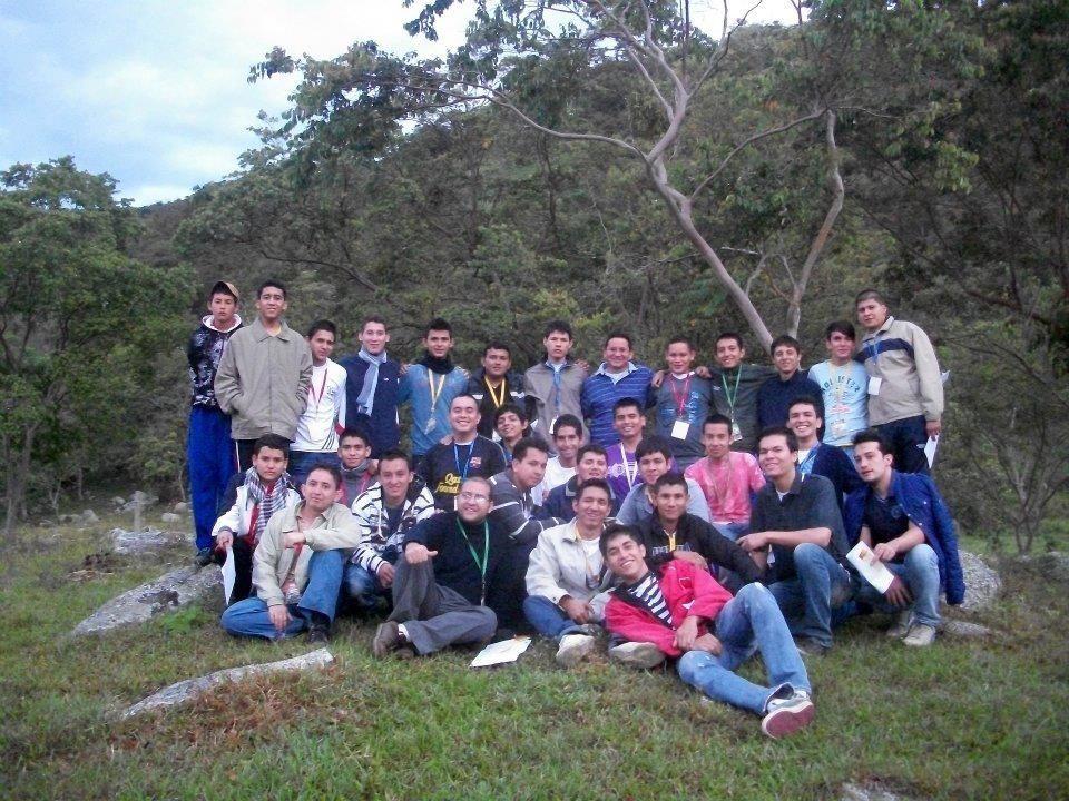 Campamento vocacional 2012