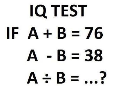 INFORMATION AT INTERNET Easy IQ Test! Iq pics Pinterest - iq chart template