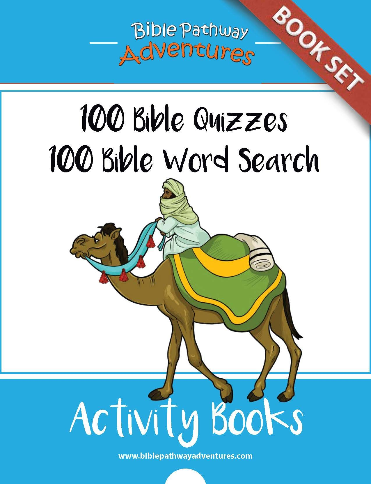 200 Bible Quizzes And Word Search Puzzles