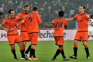 Delhi Dynamos host Pune City in ISL Delhi Dynamos will have to be sharper in front of the goal as they battle FC Pune City in a crucial encounter of the Indian Super League (ISL) at the Jawaharlal Nehru Stadium here on Thursday.