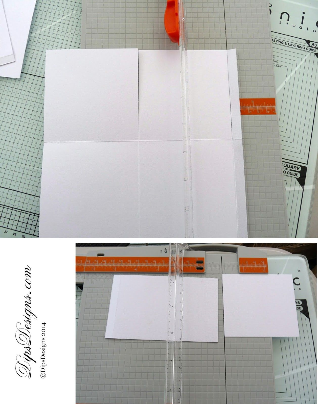 Card in a Box Step-by-Step Tutorial Step 2