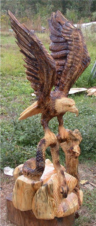 Chain saw artist dayton scoggins art