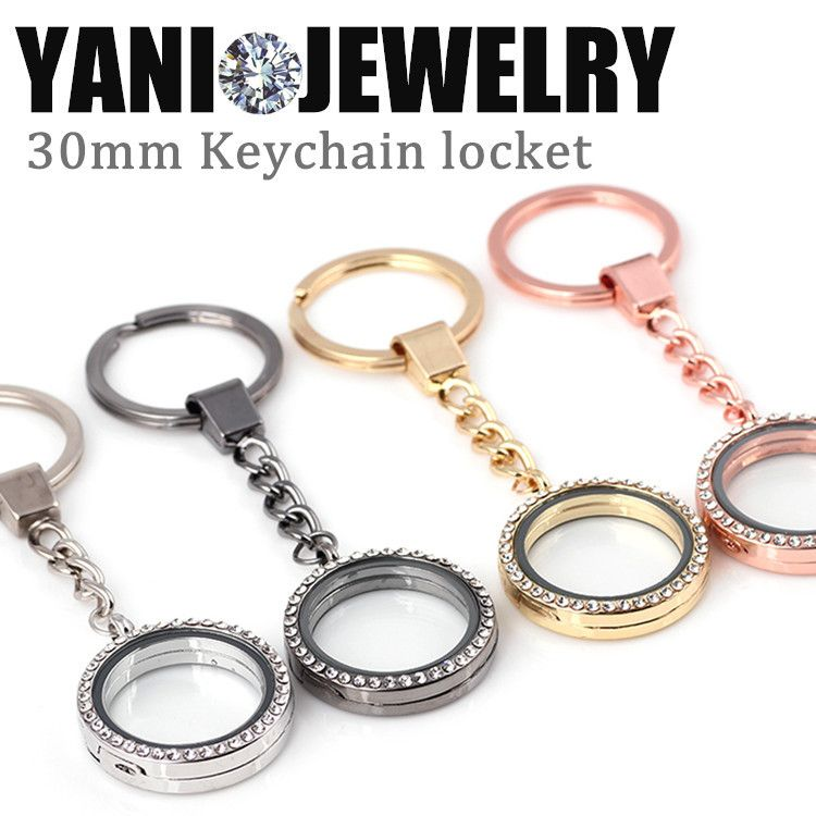 Find more pendants information about 10pcslot wholesale crystal find more pendants information about 10pcslot wholesale crystal 30mm floating locket with keychains magnetic aloadofball Choice Image