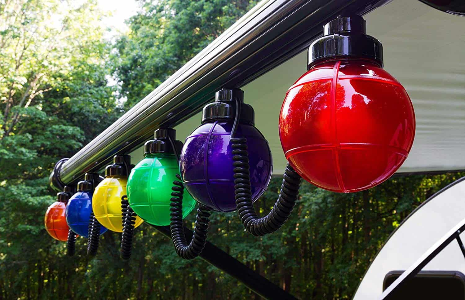 9 Ways To Enhance Your Rv Outdoor Living Space Rv Ideas For Outside Learn Along With Me Outdoor Living Space Outdoor Living Outdoor Globe Lights