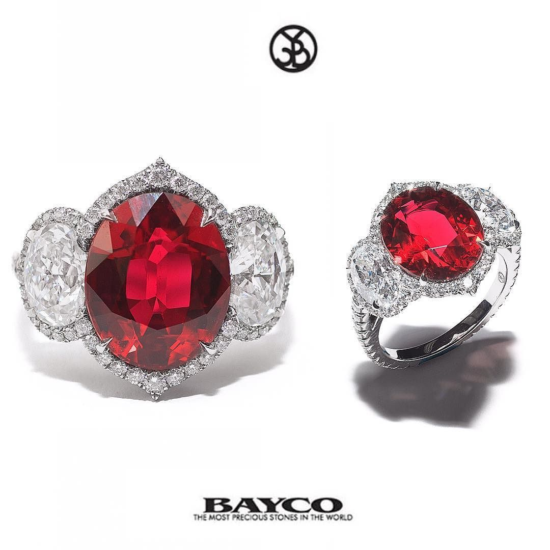 an exceptional pin ruby color diamonds with oval set d baycojewels classic diamond thai style