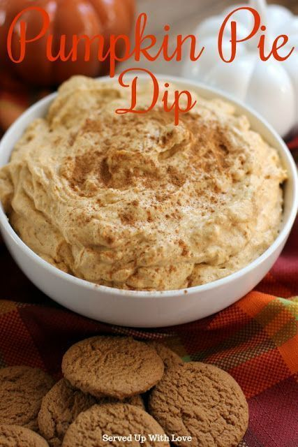 Pumpkin Pie Dip #pumpkindip