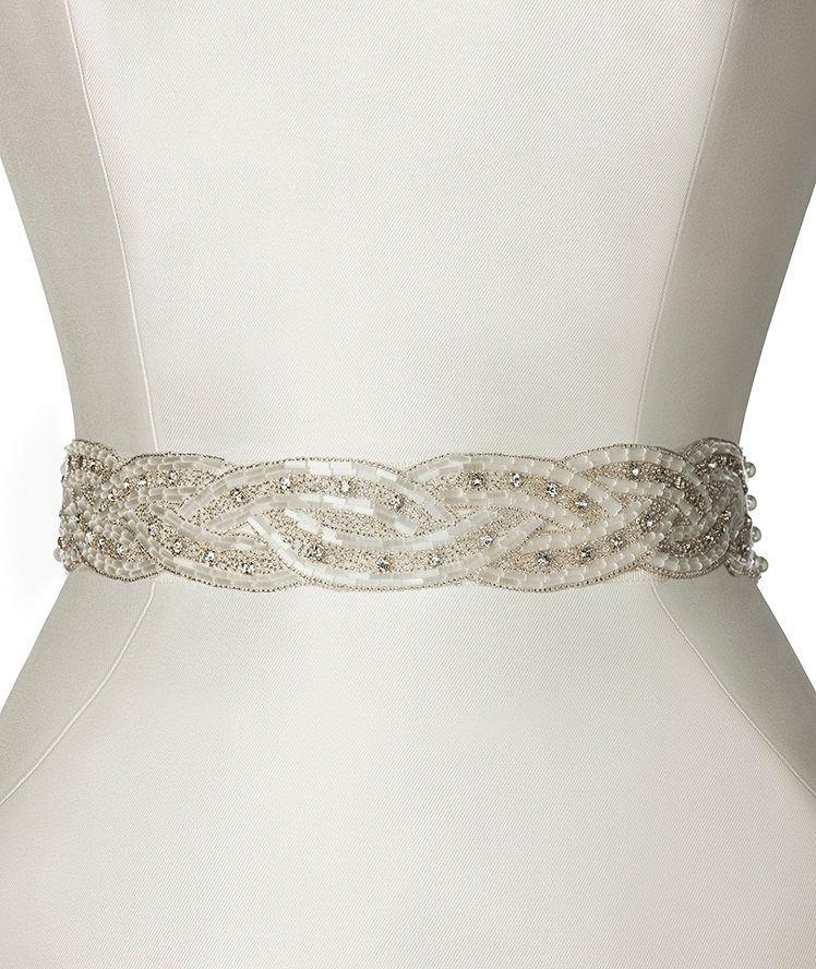 te presenta su cinturón CINT.402 para vestidos de novia ...