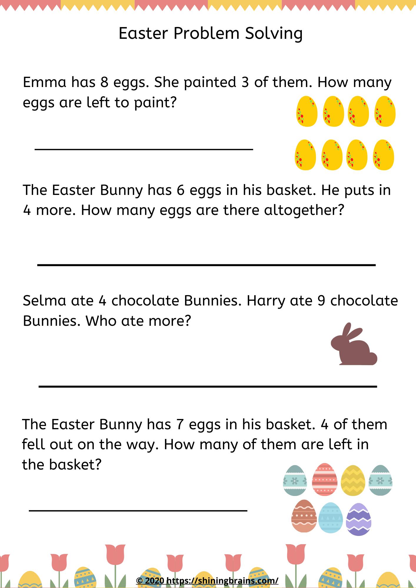 Easter Problem Solving In