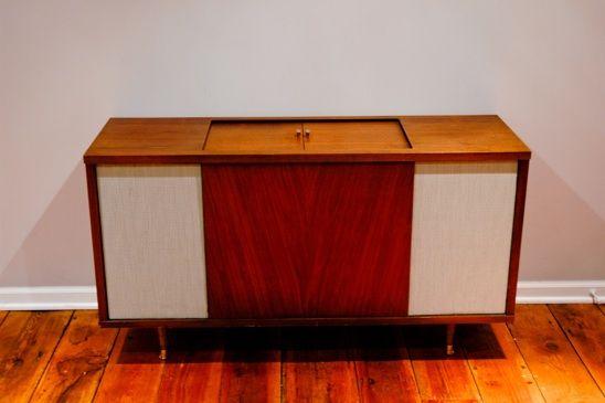Nice Vintage Stereo Cabinet Redux