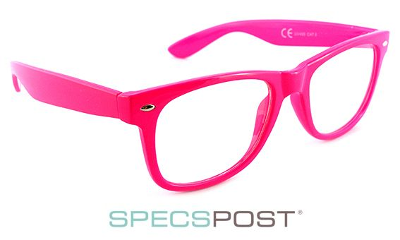 LOL Pink Prescription Glasses | SpecsPostGeek Chic Glasses Frames ...
