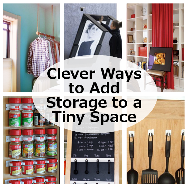 Clever Ways To Add Storage To A Tiny Space (DIY Home Sweet Home)