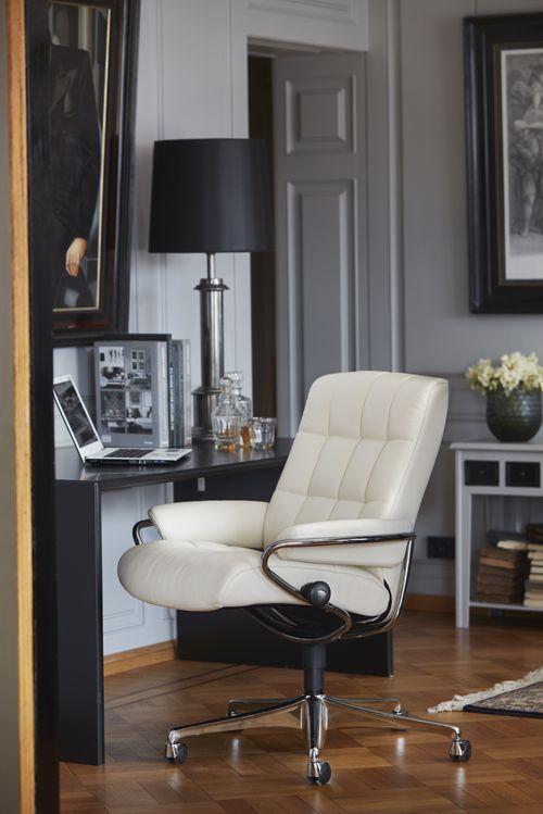 Arbeiten Mit Genuss Stressless Homeoffice Sessel London Bürostuhl