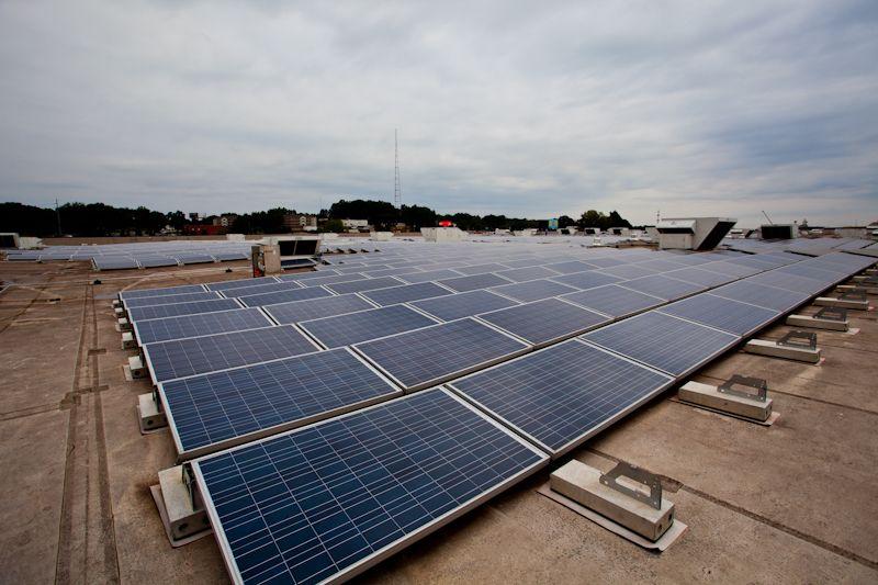 Ikea S Massive Solar Roof Atlanta Ga Solar Roof Roof Solar
