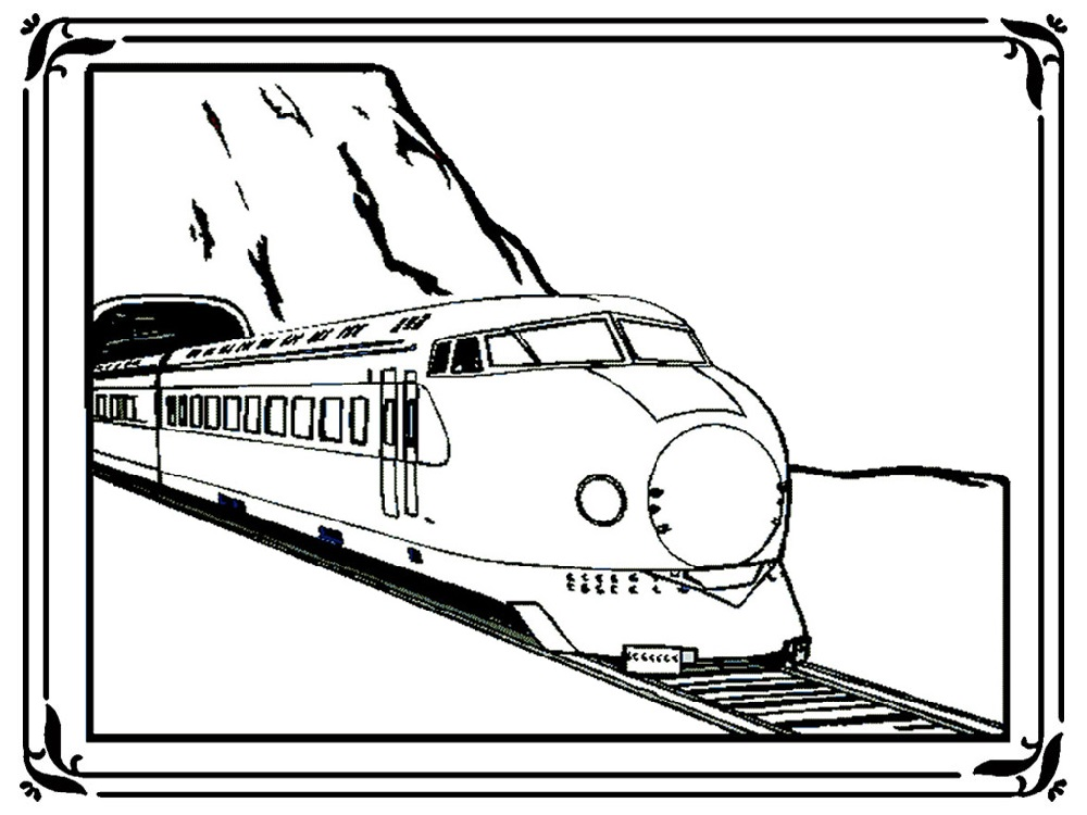 Free Train Coloring Pages to Print | 101 Coloring in 2020 ...