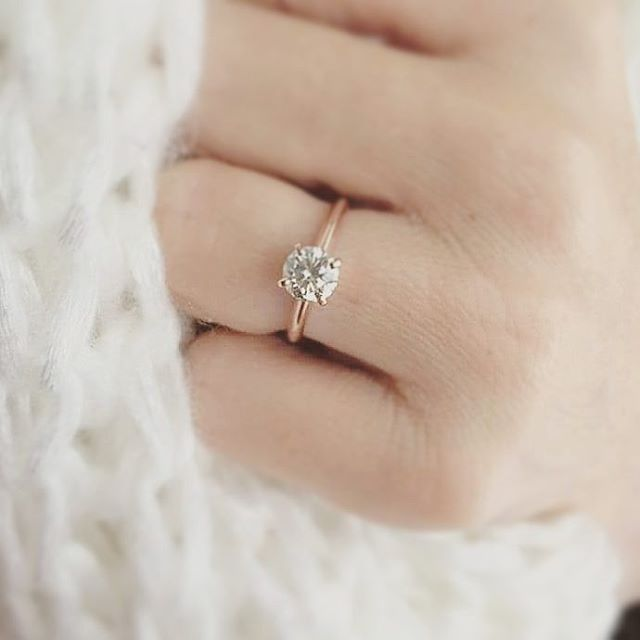 Check Out This Classic Solitaire Setting Style 123213 Elegant
