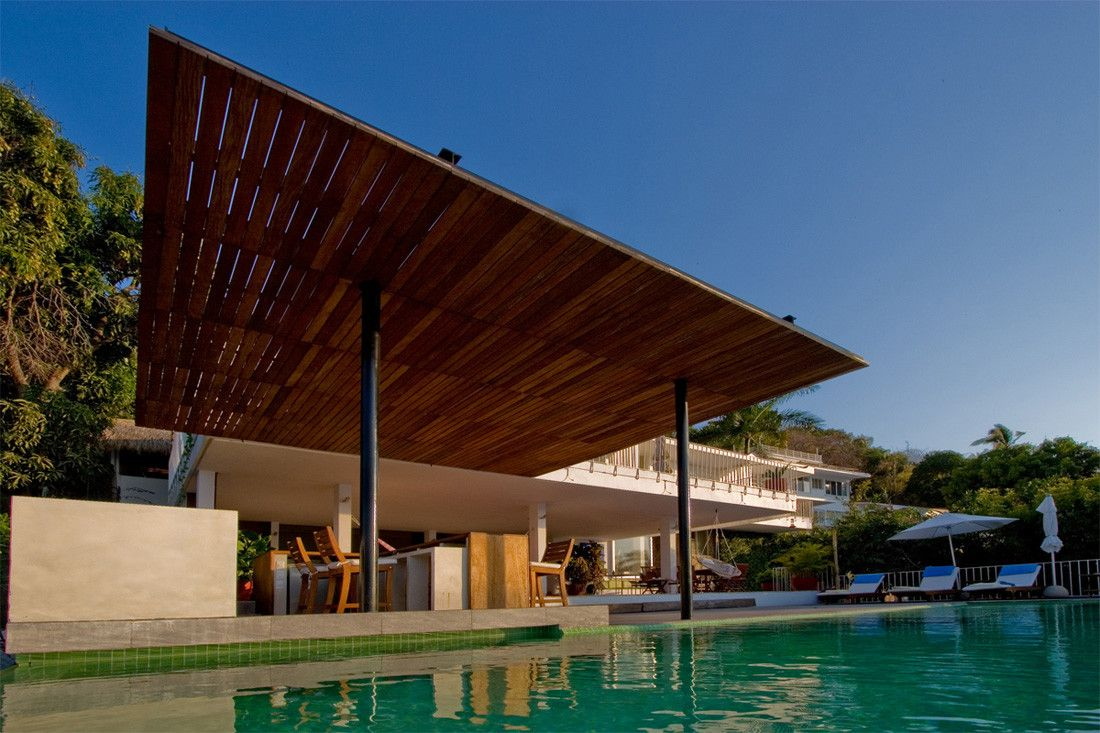 House 3 at103 Acapulco mexico Modern house design and House