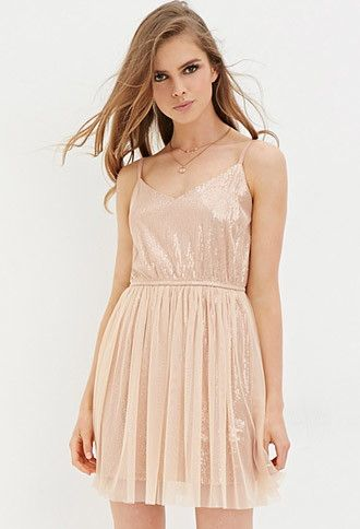 f31207e73fe Sequin Tulle Dress