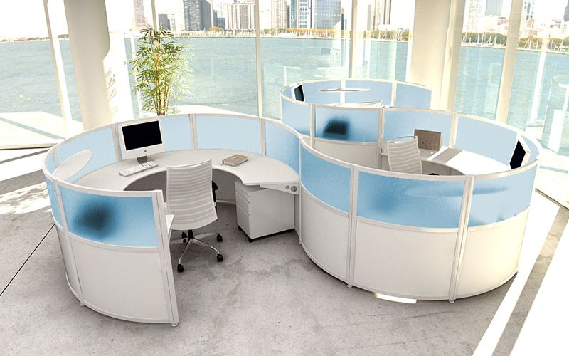 Our custom office furniture modular workstations modern cubicles