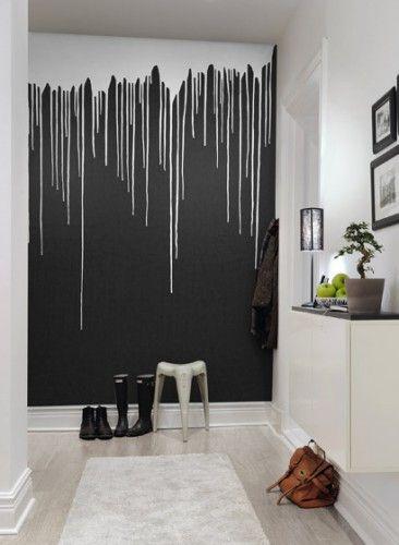 Wandbild Colour Rain von Rebel Walls-2353 #colourinspiration