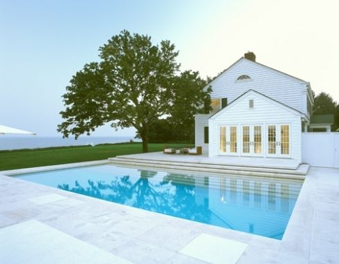 Gabellini sheppard 39 s east hampton residence great pool for Pool design hamptons